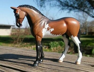 CM Breyer SM Stablemate customized G3 Standing Thoroughbred TB Warmblood WB