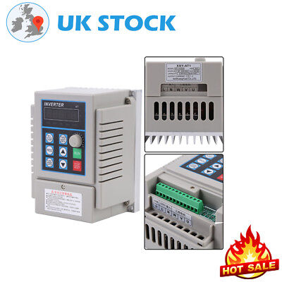 0.75Kw Ac220V 5A Single Phase Variable Frequency Drive Inverter Speed Controller