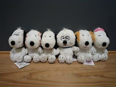 Peanuts Snoopy Daisy Hill Puppies Plush Doll set from Japan