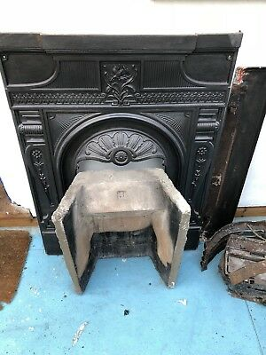 Victorian Style Cast Iron Fireplace Surround