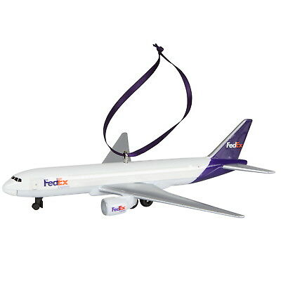 FedEx Express Boeing 777 Model Christmas Ornament Desktop Metal DieCast Aircraft
