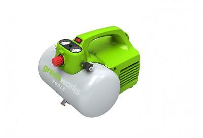 Greenworks Compresseur d'air électrique de 6L, 8 Bar, 300W - 4101302