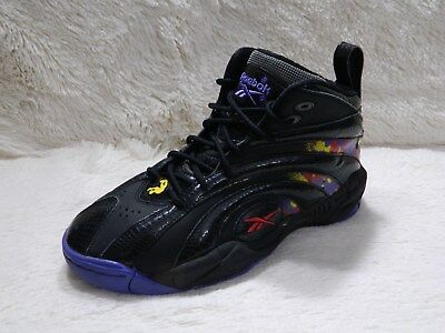 71d8cd64aaec37 Reebok Shaqnosis OG Escape From La Mens Size 6 Youth Black Basketball FREE  S H
