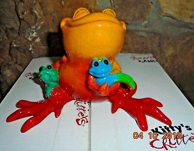 New Kitty's Critters Rare Mommy's Love '2010' Figurine #8695LE So, So Adorable~