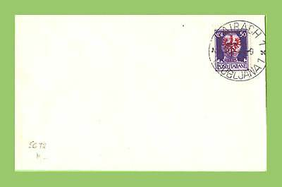 Slovenia (German Occ.) 1944 50c Italian overprint on cover