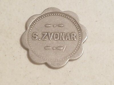 EARLY CHICAGO,Illinois TRADE token, S.ZVONAR // 5¢   L197