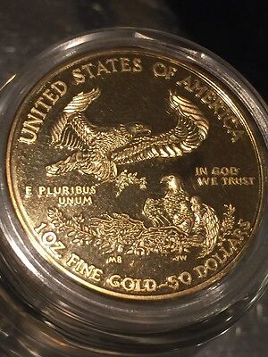 Liberty Gold Eagle $50 Souvenir Coin