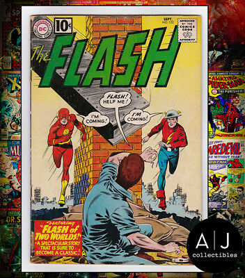 The Flash #123 (I DC M) VG - FN! HIGH RES SCANS!