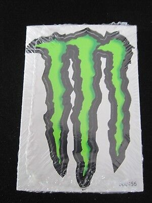 """MONSTER ENERGY DRINK LOGO STICKERS 4"""" x 3""""  PACK OF 50"""