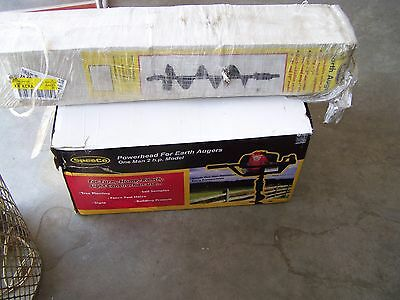 "SPEECO 2 HP 2 CYCLE WITH 6"" Earth Auger Post Hole Diggers,  NEW"