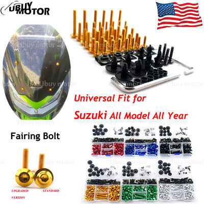 CNC Complete Fairing Bolt Screws Kit for Suzuki GSX-R 600 / 750 K6 2006 2007