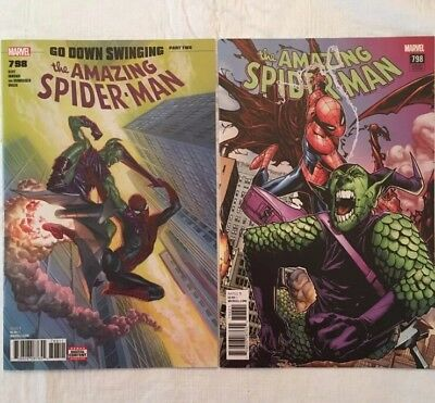 The Amazing Spider-man 798 & 798 Ramos Variant 1st full Red Goblin