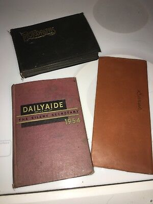 Estate Lot Of Vintage And Antique Paper. Photos, Death, Ledger