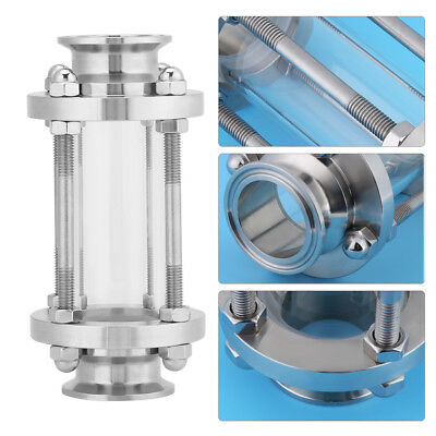 "1.5"" Flow Stainless Steel 304 Tri Clamp Sanitary Sight Glass 1.6 MPa gd"