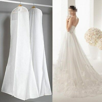 Plastic Wedding Dresses Garment Dust Proof Cover Bags Storage Bags For Clothes