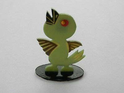 1920's Japan Chick  Chicken Celluloid Place Card Holder Adorable RARE farm anima