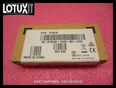 New Dell Intel 10G SFP+ SR Optical Transceiver Y3KJN R8H2F 10GbE 10Gb X520 X710