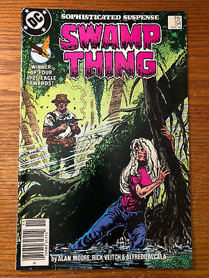 The Saga of the Swamp Thing #54 DC Comics 1986 VF/NM Alan Moore