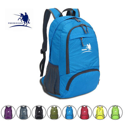 Foldable Backpack Waterproof For Outdoor Sports Camping Hiking Travel School Bag