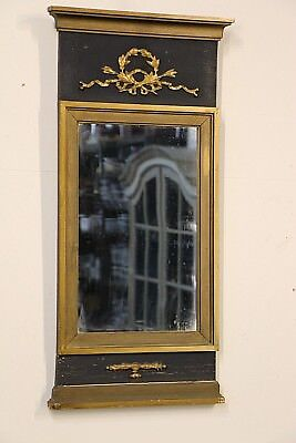 Antique French Empire gilt wood mirror 19th century original gold carved ornate