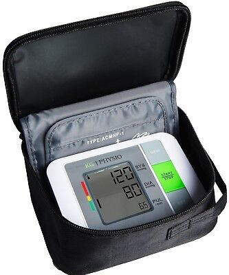 Blood Pressure Monitor Machine Kit Upper Arm BP Monitor AC Adapter Carry Case
