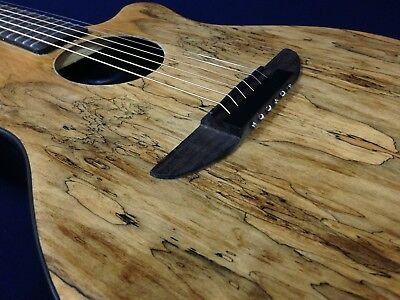"Light-Weight 38"" Haze 836CGC Round-Back Acoustic/Classical Guitar,Spalted Top"