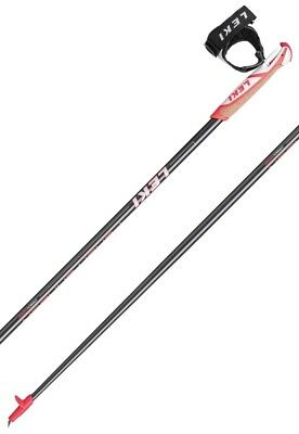Leki Flash Carbon Nordic Walking Stöcke Trigger Shark 2.0 Korkgriff 1Paar NEU