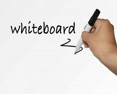 4 Mil Dry Whiteboard Office School Erase Whiteboard Film 60''x20'' Writing Film