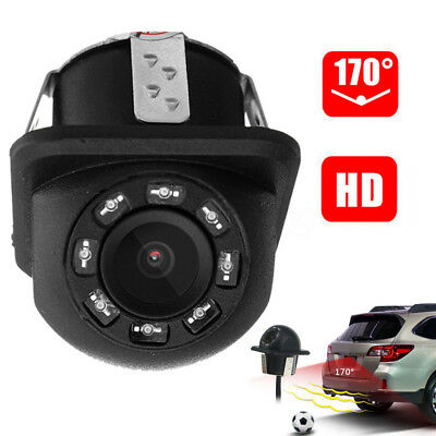 Full HD CCD Car Rear View Backup Parking Camera With 8 LED Night Vision IP67 Cam