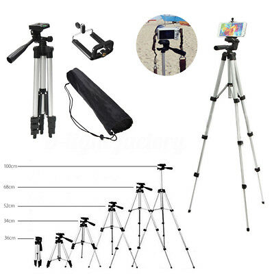Professional Camera Tripod Stand Holder Mount for iPhone 6 7 8Plus Samsung S9+
