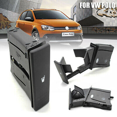 New Front Center Console Water Drink Cup Holder For VW Polo 9N 02-10 6Q0858602G