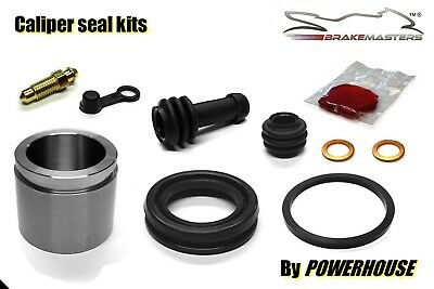Kawasaki KX125 D1 front brake caliper piston seal rebuild repair kit 1985