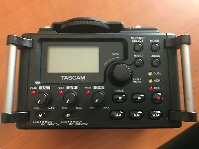 Tascam DR-60D recorder for DSLR type camera - Great Condition