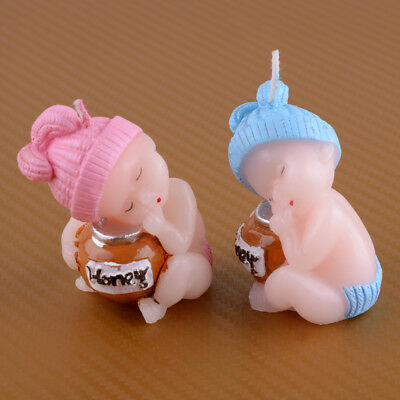Cake Decoration Candle Sleeping Baby Candles Birthday Party Cute Gift Boy & Girl