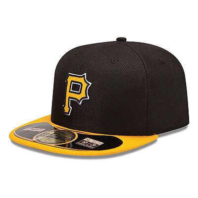Pittsburgh Pirates Diamond New Era MLB 59FIFTY Fitted Cap - up to 7 1/8