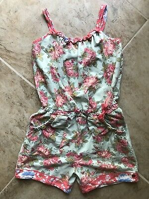 Matilda Jane 435 Happy and Free Backyard BBQ Romper Size 12