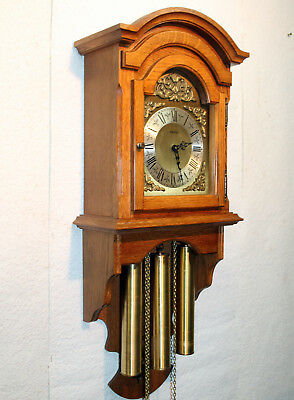 Old Wall Clock Regulator Westminster 3 Weight  brass Chime clock *FHS* HERMLE*