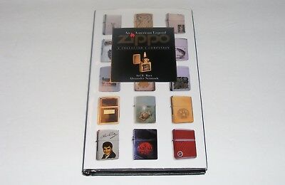 Zippo Cigarette Lighter Collector's Companion History Book Designs Advertising +
