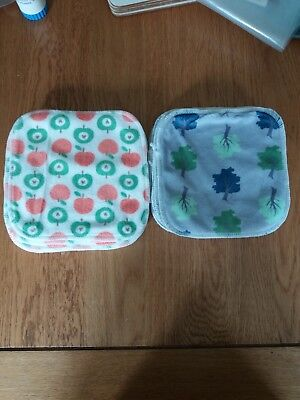 Cheeky wipes Bamboo Minky new x 20 two different designs