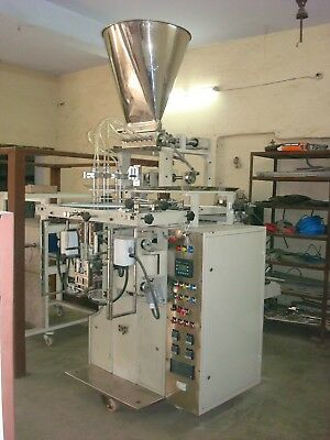Eight Lane Shampoo sachets packing machine