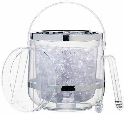 KitchenCraft BarCraft Acrylic Double Walled Insulated Ice Bucket
