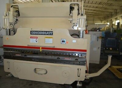 "10' Cincinnati-Inc 90-Ton ""autoform 90Af+8Ft"" Cnc Hydraulic Press Brake - #28451"