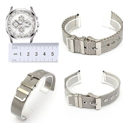 6b1c2a51eaf 18-22mm Shark Mesh Stainless Steel Watch Band Strap fits Breitlin Thick    Heavy