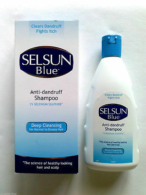 SELSUN BLUE Deep Cleansing Anti-dandruff Shampoo 200 ml