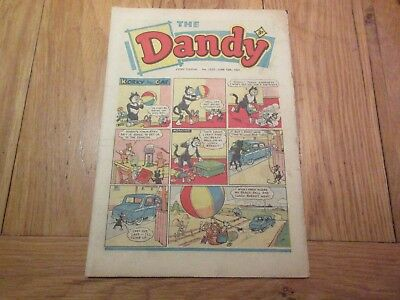 The DANDY COMIC-No 1020 - JUNE 10th 1961 -  Good Condition/Like Beano
