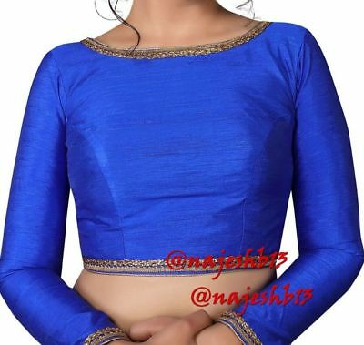 Readymade Saree Blouse,Stitched Boat Neck Blouse,Designer sari Blouse,Crop Top