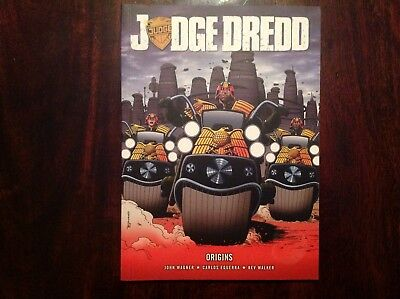 2000AD Judge Dredd Origins Graphic Novel