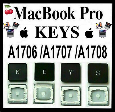  Apple Macbook Pro Keys Models: A1706 / A1707/ A1708 With & Without Touch Bar 