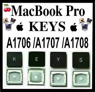  Macbook Pro Keyboard Keys Models: A1706 / A1707/ A1708 With & W/O Touch Bar 