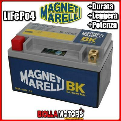 MM-ION-10 BATTERIA LITIO 12V 20AH YTX14-BS SUZUKI AN650 Burgman 650 2016- MAGNET